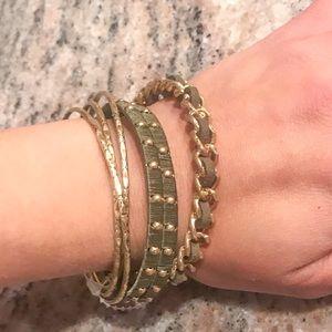 INC International Concepts Bangle/Bracelet Set